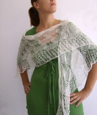 Hand knitted lace wedding shawl 2 | Flickr - Photo Sharing!