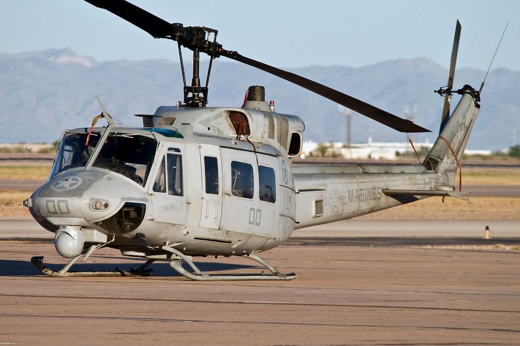 Bell UH1N Twin Huey BuNo 160454 HMLA269 Gunrunners