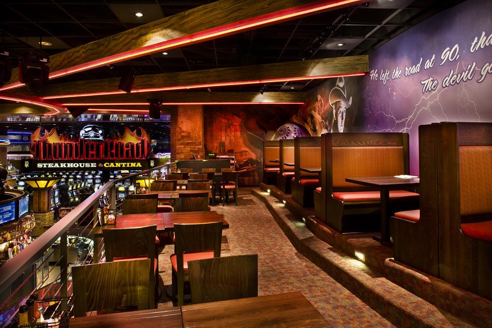 Restaurant Theming  Restaurant Seating Area  Thunder Roa