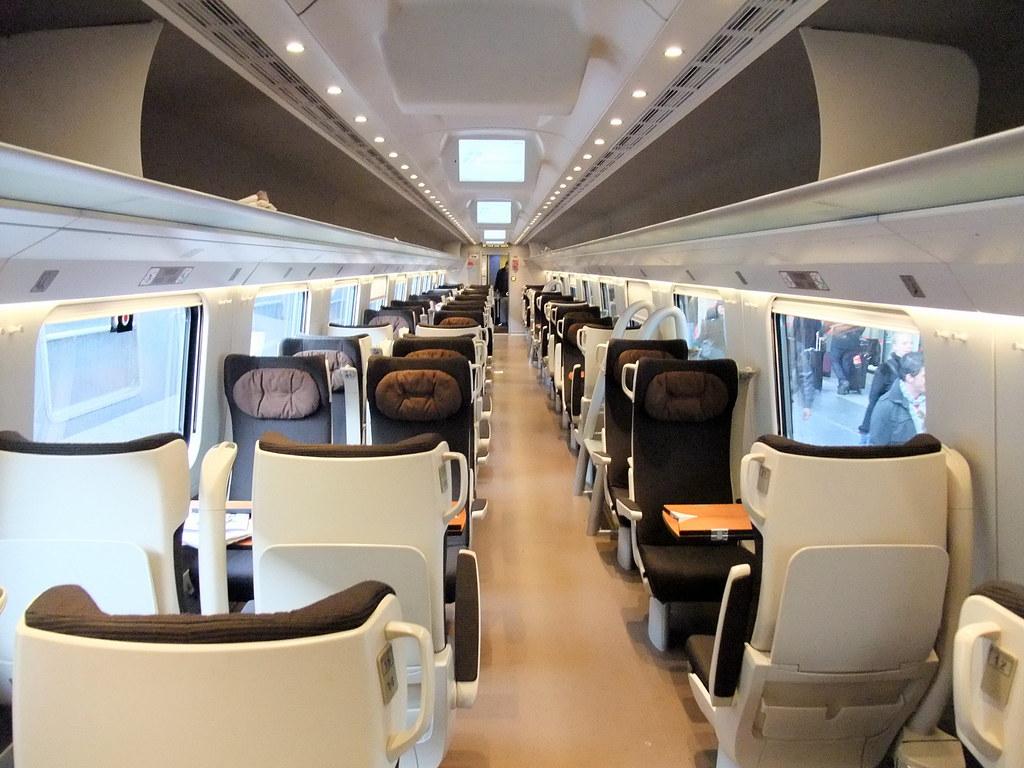 Trenitalia Treno Eurostar Frecciargento Train First Class