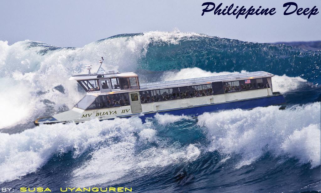 Island 3d Wallpaper Philippine Deep Mindanao Surigao Giant Waves Tsunami