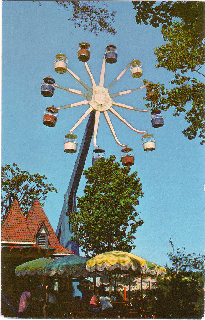 Hersheypark Giant Wheel  Built in 1973 by Intamin AG of Swi  Flickr