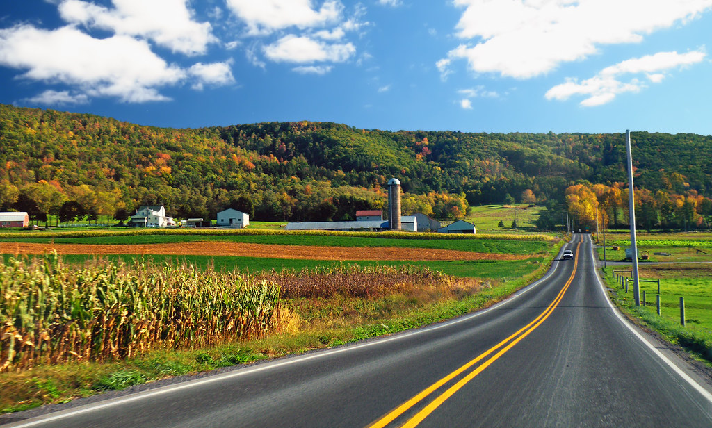 Fall Path Wallpaper Country Drive Pa Route 477 Sugar Valley Clinton County