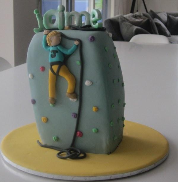 Rock Climbing Cake Inspiration -courtney Dana' Cakes