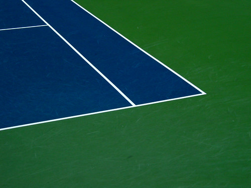 UF Ring Tennis Court Blue Green  Christopher Sessums  Flickr