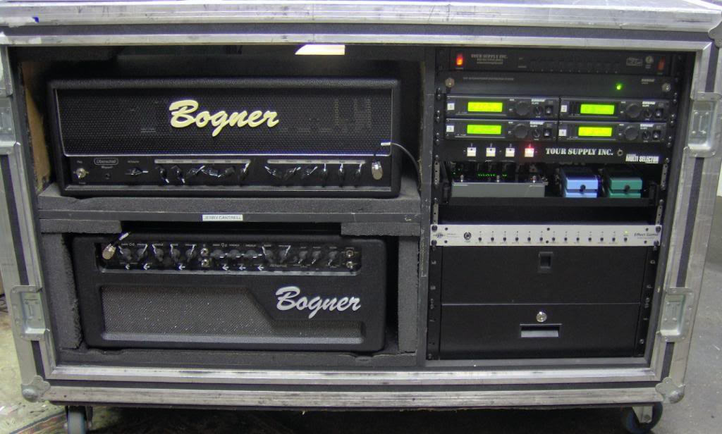 Alice in Chains live tour rig amp setup  Here is Jerry