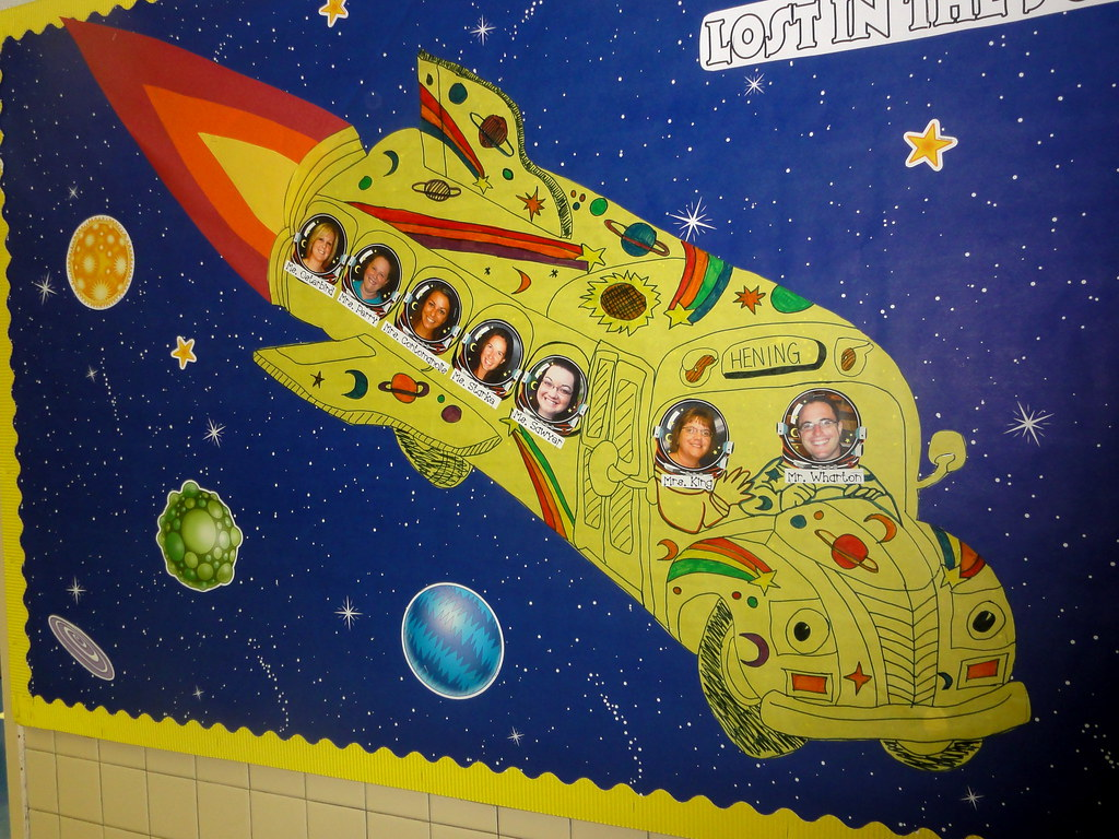 Magic School Bus Bulletin Board
