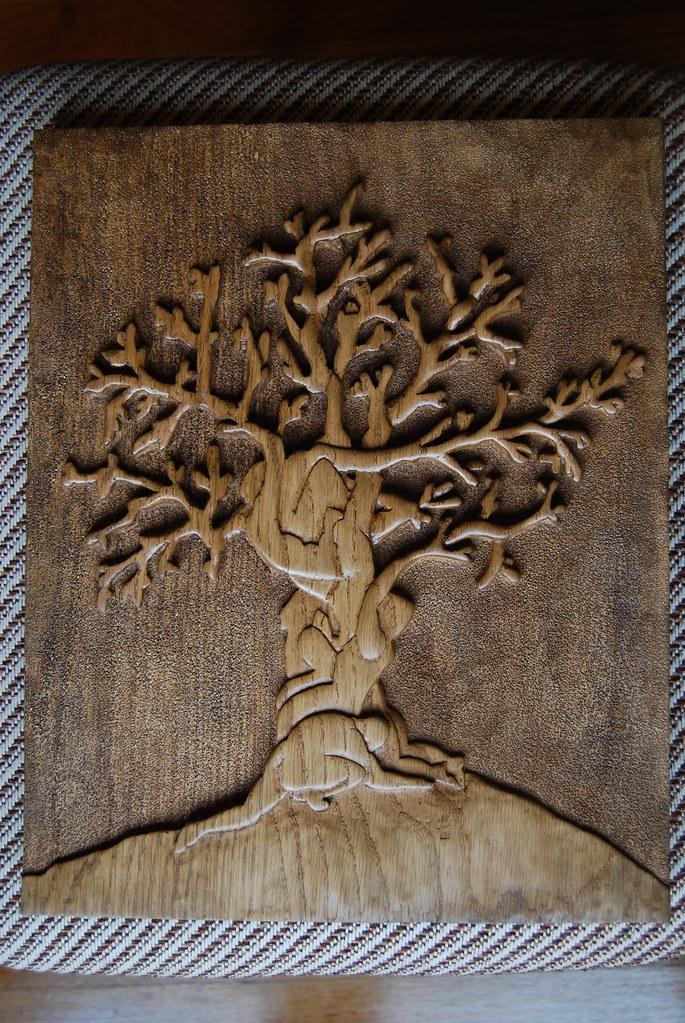 arbol de la vida talla madera  xgorka79x  Flickr