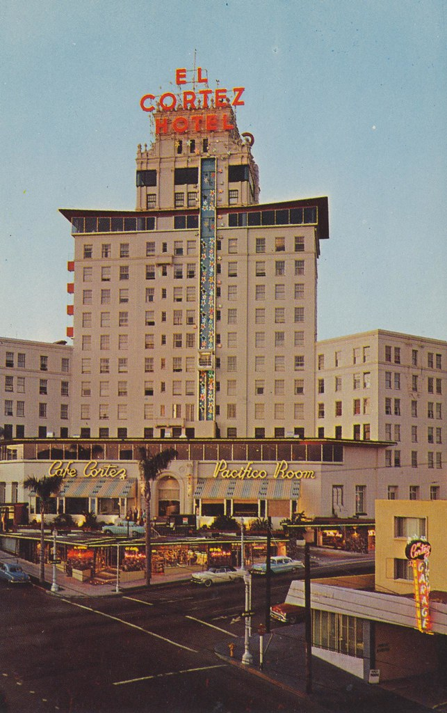 The Cardboard America Motel Archive El Cortez Hotel  San