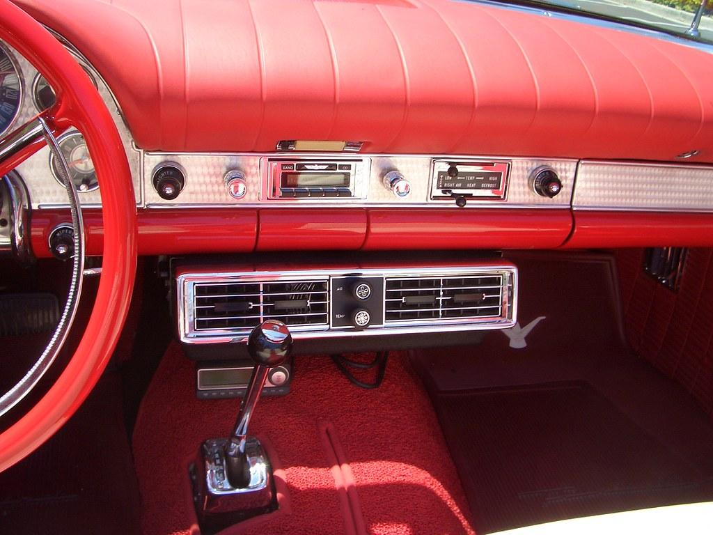 My 1957 Ford Thunderbird  Interior  AC  My 1957 Ford
