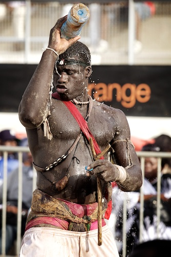 Traditional African Wrestling  Superstition plays a big