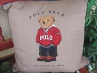 FLOWN: Polo Bear pillow by Ralph Lauren   The Living Room ...