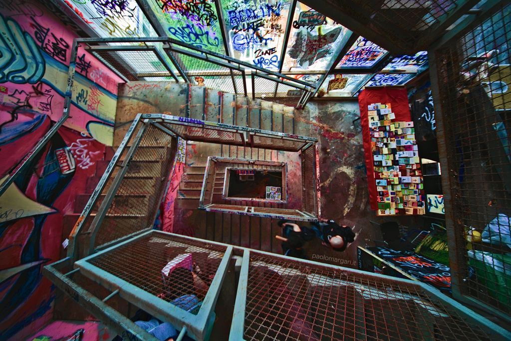 Tacheles stairs Berlin  Join my page on Facebook Berlin