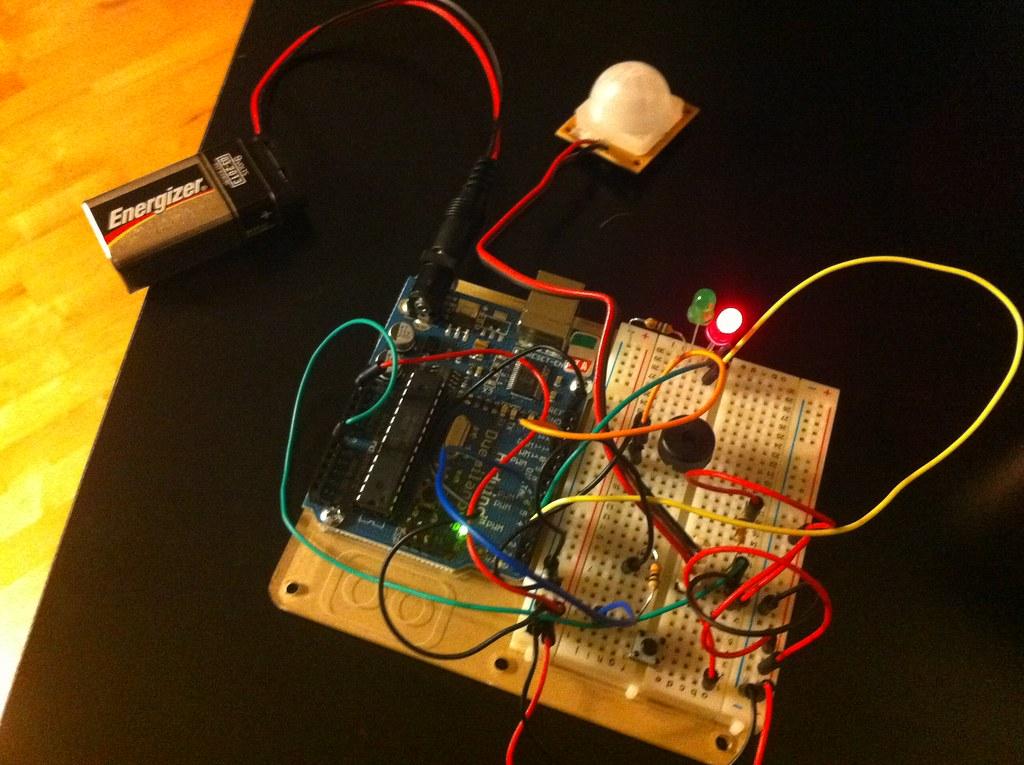 Arduino Motion Sensor Circuit