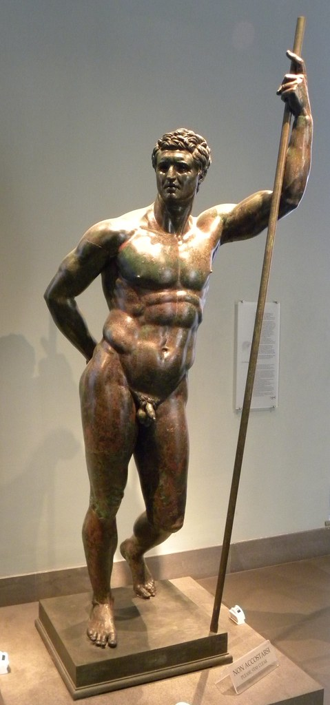 Hellenistic Prince  A heroic portrait statue with an