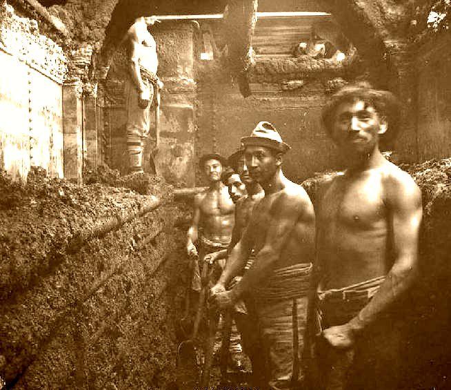 Interior de las faenas salitreras en Chile  santiagonostalgico  Flickr