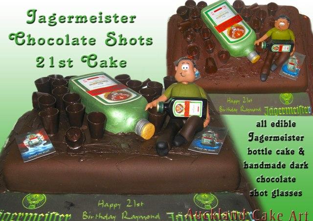 JAGERMEISTER CHOCOLATE SHOT GLASSES BIRTHDAY CAKE  Jagermei  Flickr