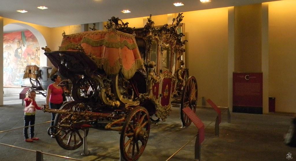 Carroza de gala de los emperadores Maximiliano y Carlota