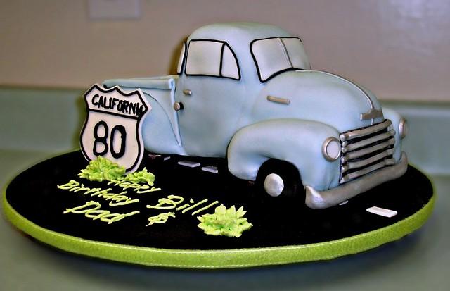 Dads 80th Birthday Cake  Flickr  Photo Sharing