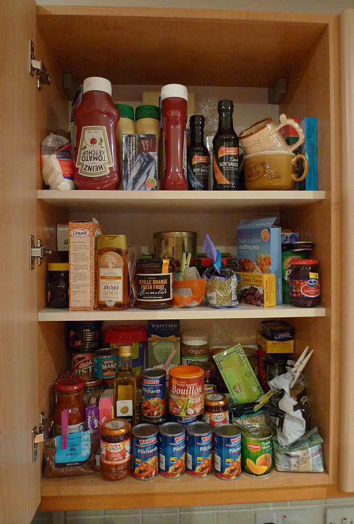kitchen food cupboard  John Keogh  Flickr