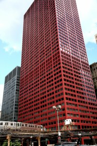 """Chicago (ILL) Downtown, S Wabash Ave, """" CNA Center """" 1972 ..."""