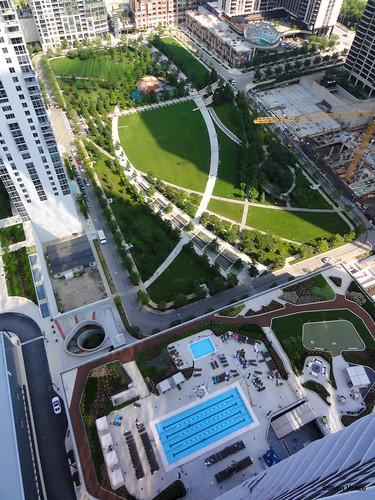 Lakeshore East Park  By Magellan Development Lets say