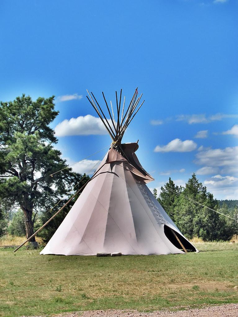 Black Hills Wild Horse Sanctuary  Native Americans Tipi