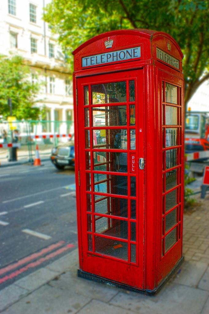 Cabinas de Telfono  Londres  Cabinas de Telfono de