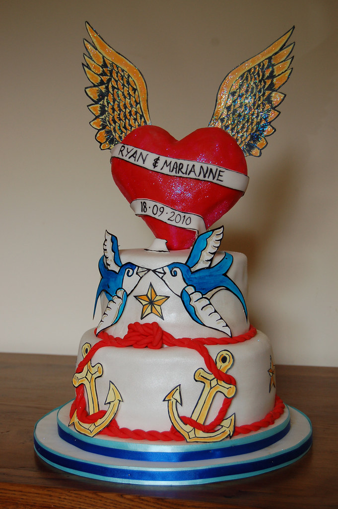 Rockabilly Wedding Cake I LOVED Doing This Cake The
