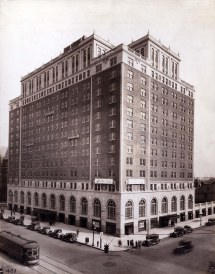 Dayton Biltmore Hotel Erected