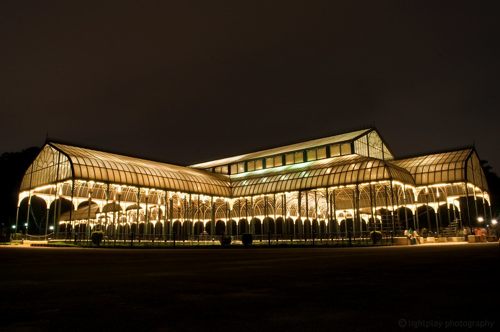 The famous glass house at Bangalore  The famous glass