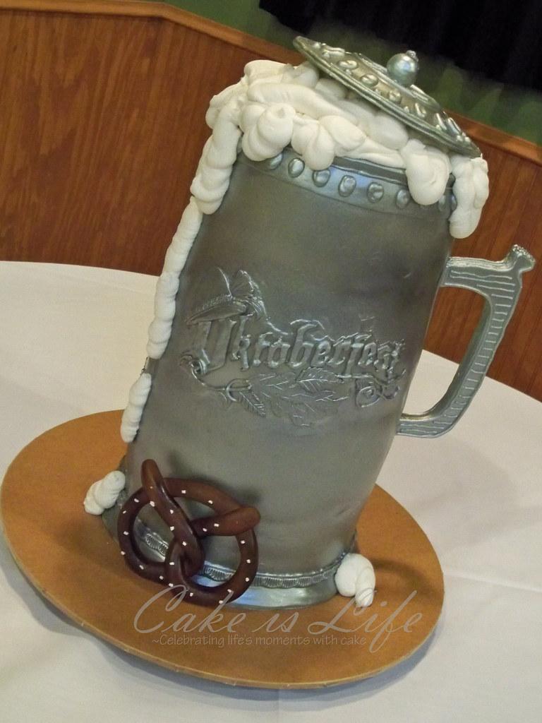 Oktoberfest Beer Stein Cake  092010 This beer stein