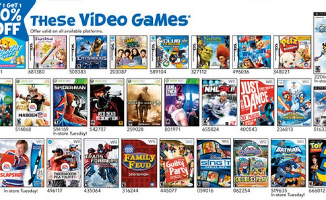 Toys R Us 9 5 10 To 9 11 10 Video Game Deals Gaming Bits