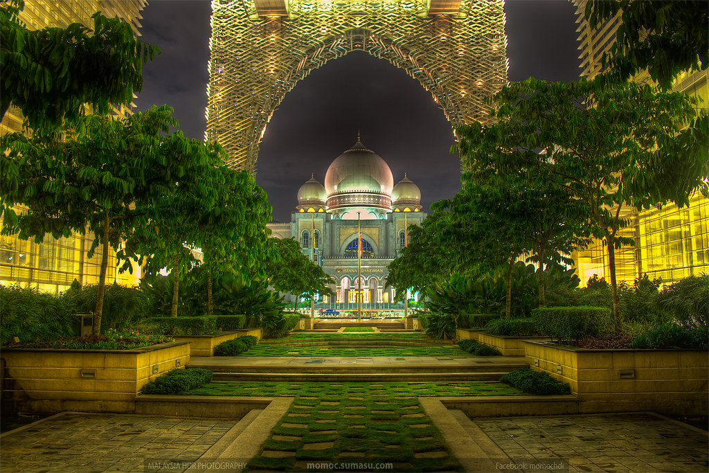 My Best Night HDR Photography Modern Islamic Architectur