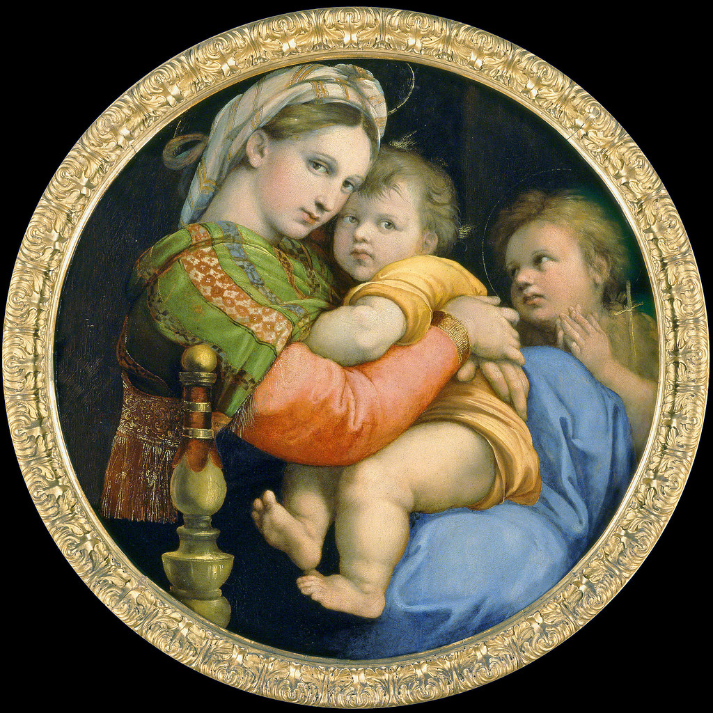 madonna of the chair wayfair covers raphael della sedia other version raffaello