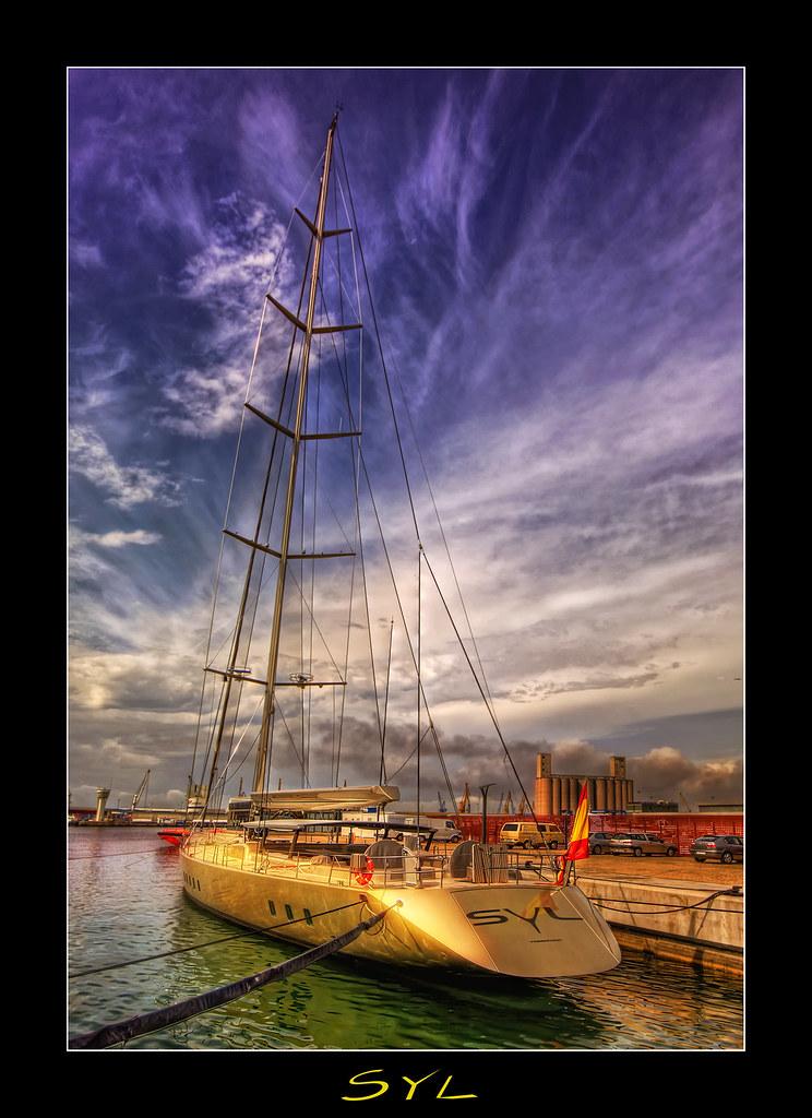 Syl El Velero Dorado  View On Black Innovador Velero de 14  Flickr