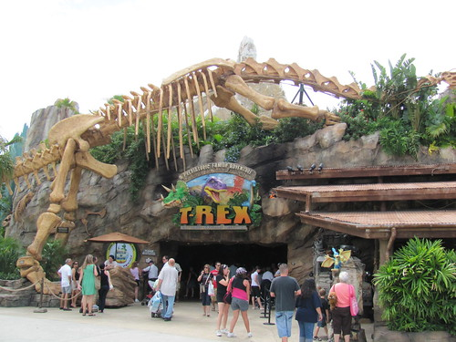T-REX Cafe on Pleasure Island at Downtown Disney