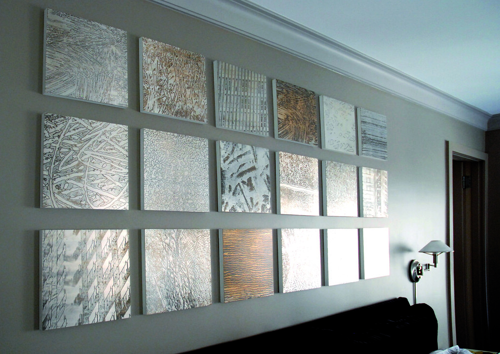 Etched Metal Wall