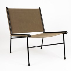 Canvas Sling Chair Metal Rocking Chairs Outdoor Uk Clement Meadmore C1955 Rare Ch Flickr By Modernistdream