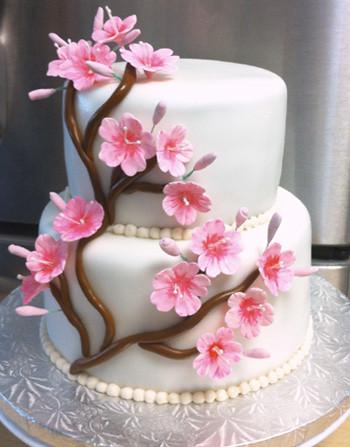 Sakura Cherry Blossom Cake Had 24 Hrs To Bake Amp Make
