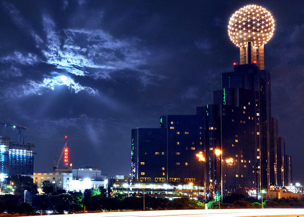 Dallas Night Sky Robert Hensley Flickr