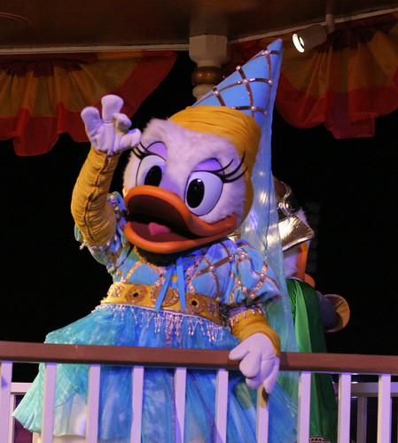 Daisy Duck in the Halloween Parade  Mickeys NotSoScary