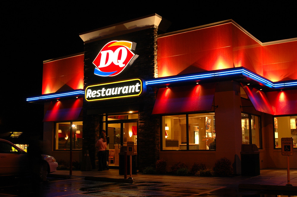 Exterior Restaurant Upgrade  Franchise Remodel  Dairy Qu  Flickr