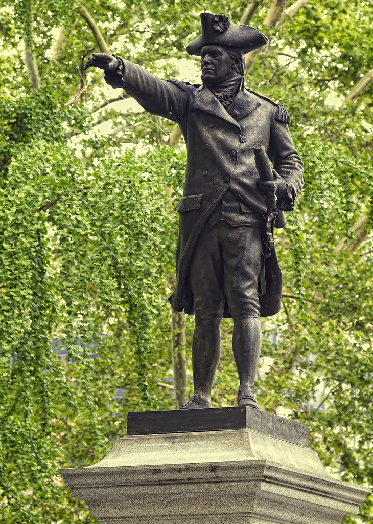 Commodore John Barry  A statue of John Barry known as