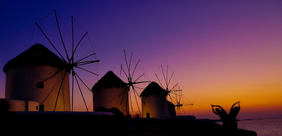 Windmills of Mykonos Greece  The windmills of Mykonos