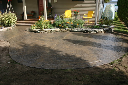 Concrete Patio Designs Layouts