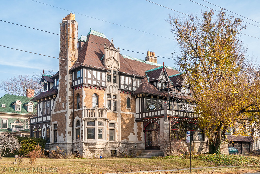 Toledo OH Murray Willys Home This English Tudor Mansion Flickr