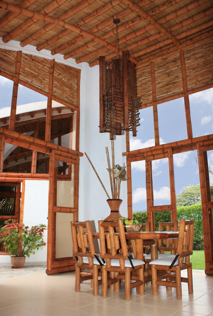 Guadua Bamb decoracin interior  Interiores y elementos
