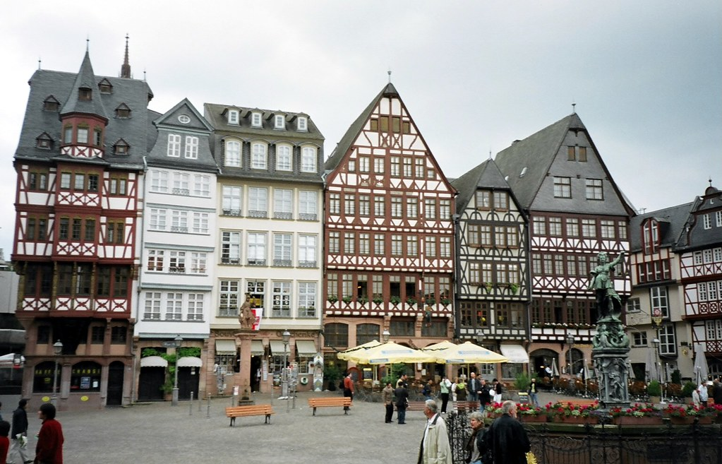Lovely Half Timbered German Houses