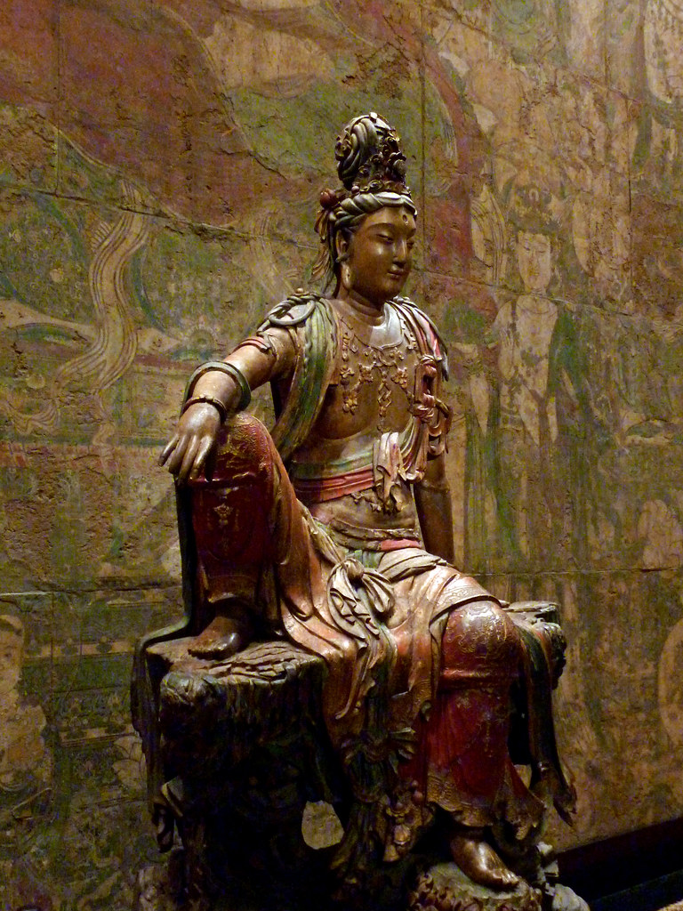 Seated Guanyin Bodhisattva  Guanyin of the Southern Sea